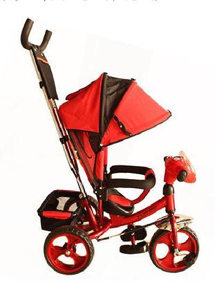 Детский трехколесный велосипед М 3115-3Н Красный, фото 2