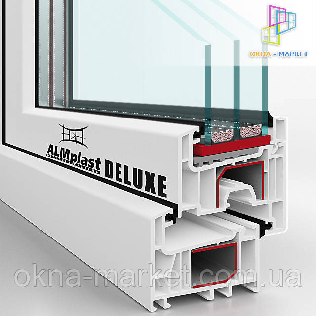 Первоклассный монтаж окон ALMplast Deluxe (098) 777-31-49