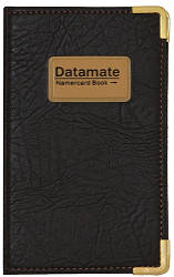 """Визитница кож/зам на кнопке """"Datamate"""" на 300 карт"""