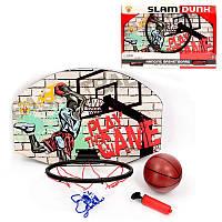 Баскетбольная корзина детская с мячом и насосом