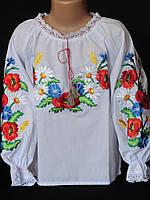 Вышитая блузка на девочку