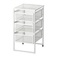 """IKEA """"ЛЕННАРТ"""" Тумба с ящиками, белый"""