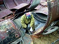 Работа демонтаж металлоконструкций