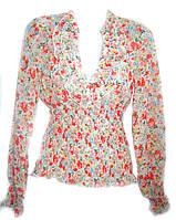 Нарядная блуза женская из шифона