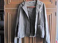 Льняной пиджак брендовый М и L