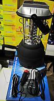 Кепминговый фонарь-лампа LT 768R со встроенной солнечной панелью, зарядка 12Вт, 220Вт, от динамо, фото 1