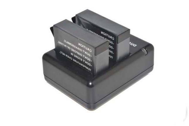 Зарядное устройство для двух аккумуляторов Hero 4 (AHDBT - 401), фото 2
