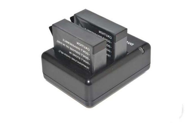 Зарядное устройство для двух аккумуляторов Hero 4 (AHDBT - 401)