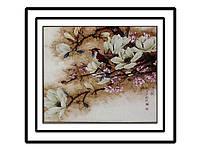Набор для вышивки картины Весеннее настроение 59х56см
