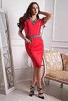 Платье №5134, коралл, размер L. Цена розницы 550 гривен.