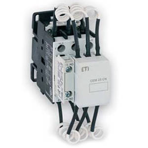 Контактор ETI CEM 7,5CN (10кВар_440V)_(7,5кВар_380V)
