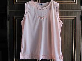 Красивая футболка нежного цвета bm newmodel