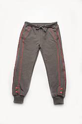 Штани для дівчинки спортивні (сірий меланж)