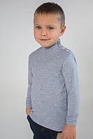 Гольф детский для мальчика серый
