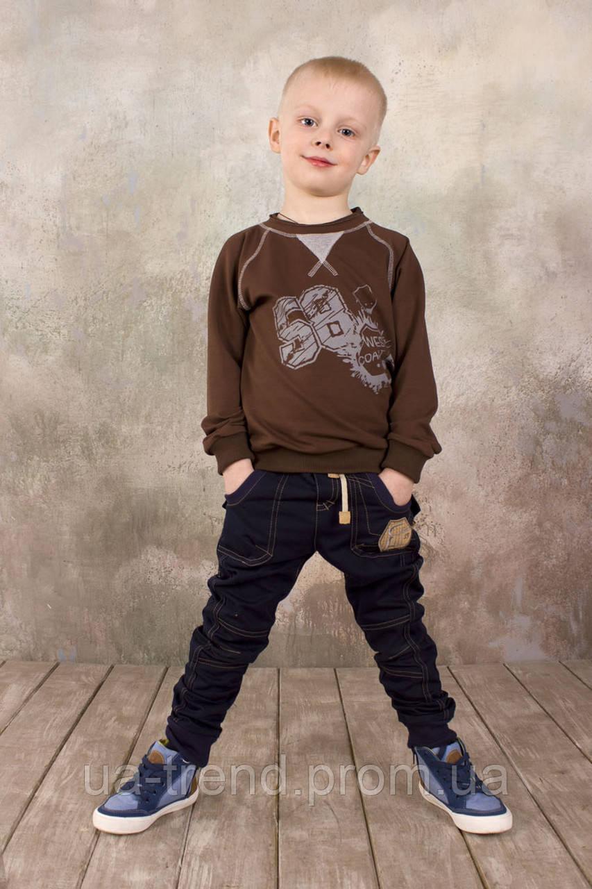 Реглан для хлопчика (коричневий)
