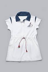 Сукня для дівчинки з канатиком біле