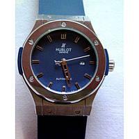 Часы Hublot в синем цвете, механические часы