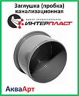 Заглушка (пробка) канализационная 110 ПП