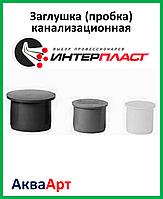 Заглушка (пробка) канализационная 50 ПП