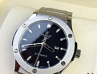 Часы Hublot с металлическим ремешком, механические часы