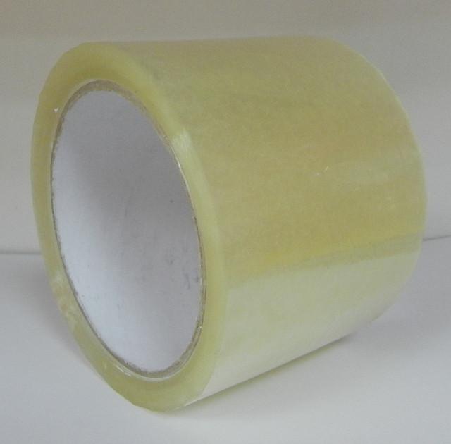 Скотч упаковочный 72х100Y 40мкн  прозрачный, коричневый (91,2м)