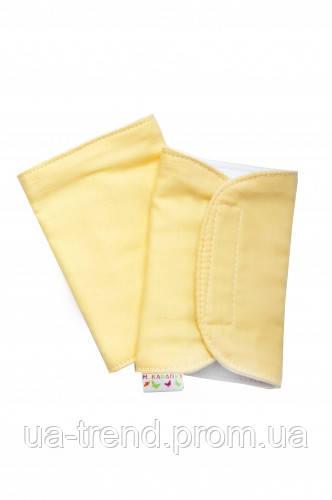 Накладки для грудничков (желтые)