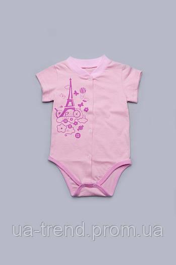 Боди из кулира для новорожденных девочек