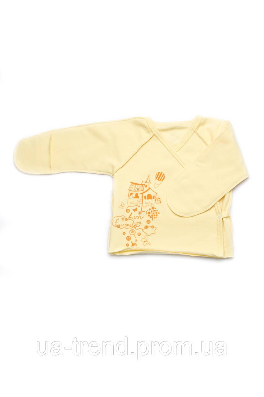 Распашонка для новорожденного из плотного интерлока (Львов)