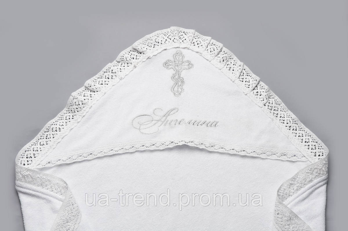 Крыжма именная для крещения (вышивка под заказ)