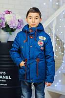 Детская модная куртка-парка для мальчика от производителя