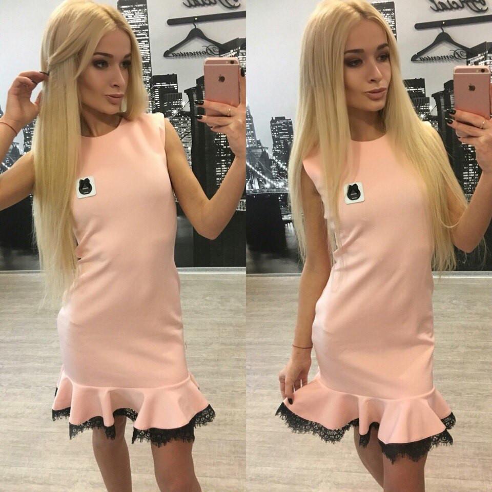Женское модное платье шанель