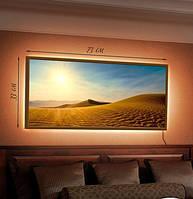 Картина с LED подсветкой Песчаные дюны