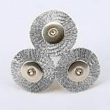 Щетка концевая стальная 03С радиальная дрель гравер бор машинка Dremel дрель сверло, фото 9