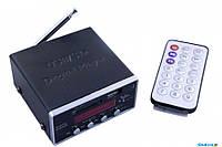 Портативный усилитель звука с динамиком AMP MD 50 UKC, усилитель мощности звука
