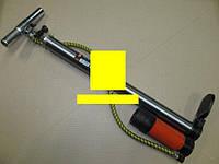 Насос ручной с ресивером и манометром 38x500mm (пр-во ДК)