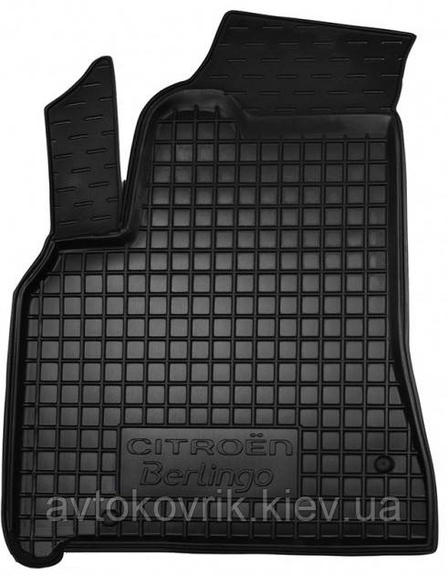 Полиуретановый водительский коврик в салон Citroen Berlingo II 2011-2018 (AVTO-GUMM)