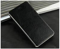 Кожаный чехол книжка Mofi для Lenovo A916 чёрный