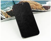 Кожаный чехол книжка Mofi для Huawei Ascend Mate7 чёрный