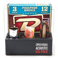 Набор аксессуаров для акустической гитары DUNLOP GA24 ACOUSTIC GIG PACK