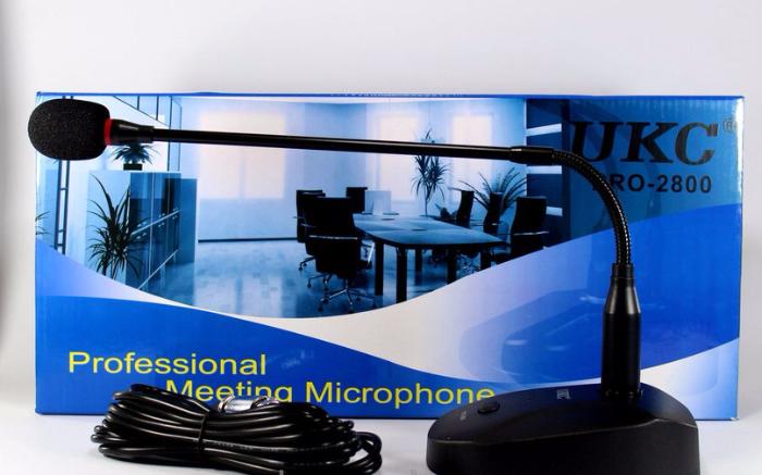 """Микрофон для конференций DM Meeting Mic 2800, динамический вокальный микрофон, миниатюрный микрофон - Интернет-магазин """"Аermix"""" в Николаеве"""