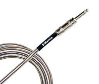 Кабель инструментальный DIMARZIO EP1710SSSM METALLIC INSTRUMENT CABLE 10ft (CHROME)