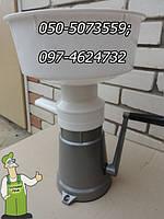Сепаратор с ручным приводом и  алюминиевой станиной — экспортный вариант (Пенза) 80л/час, фото 1