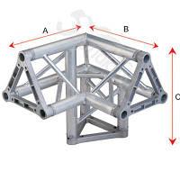 Алюминиевая ферма: уголок, втулка, пружина, соединитель SOUNDKING DKC2203I