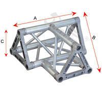 Алюминиевая ферма: уголок, втулка, пружина, соединитель  SOUNDKING DKC2203P