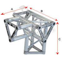 Алюминиевая ферма: уголок, втулка, пружина, соединитель  SOUNDKING DKC2203Q