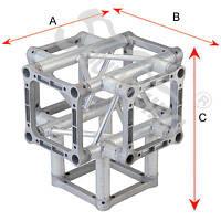 Алюминиевая ферма: уголок, втулка, пружина, соединитель SOUNDKING DKС2204I