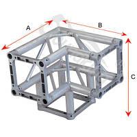 Алюминиевая ферма: уголок, втулка, пружина, соединитель SOUNDKING DKC2904E