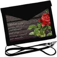 Клатч конверт Роза