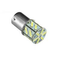 Светодиодная лампа цоколь T15, P21W (1156 BA15s) 18-SMD 7014 10Вт, 12В