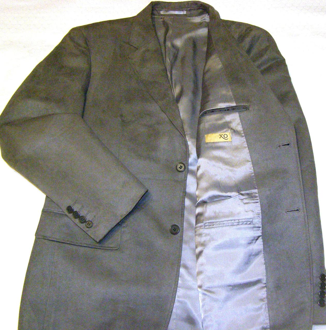Замшевий піджак ХО (50)
